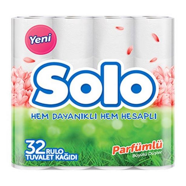 59,95 TL fiyatına Solo Parfümlü Tuvalet Kağıdı 32'li