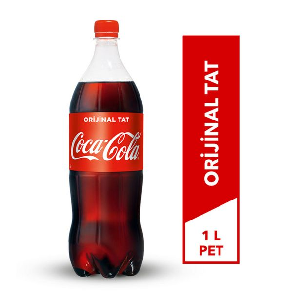 5,95 TL fiyatına COCA COLA 1LT