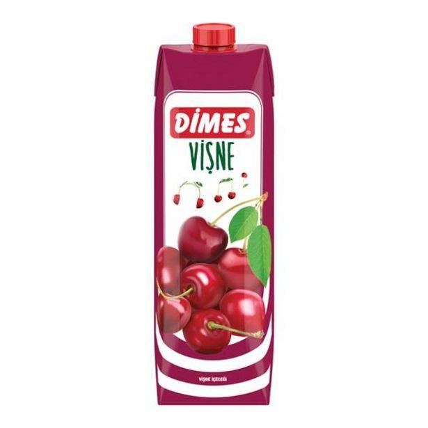 5,75 TL fiyatına Dimes Meyve Suyu Vişne 1 L