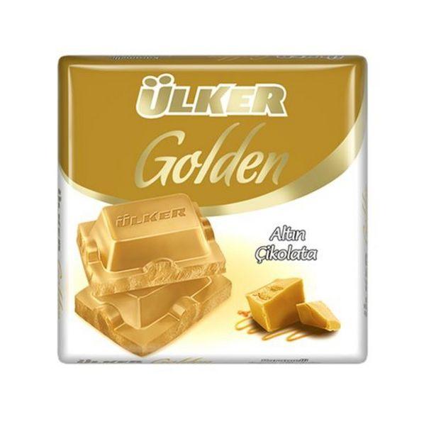 6,5 TL fiyatına Ülker Golden Altın Kare Çikolata 60 g