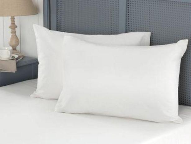 39,99 TL fiyatına Manon Ranforce Yastık Kılıfı Seti - Beyaz