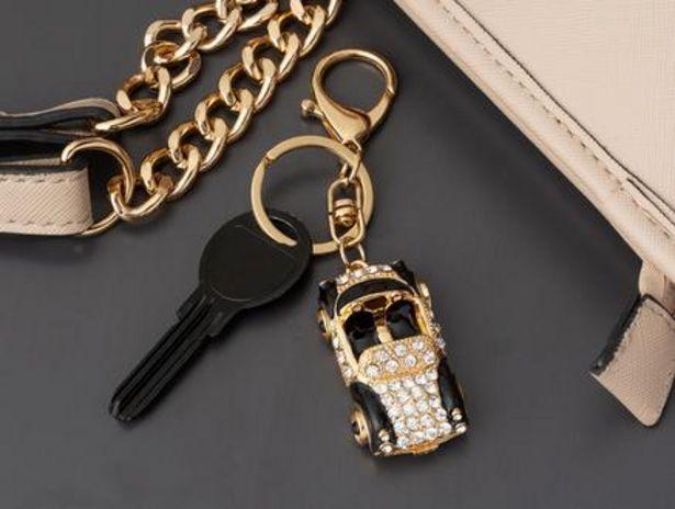 29,99 TL fiyatına Siyah Beyaz Araba Figürlü Anahtarlık - Gold