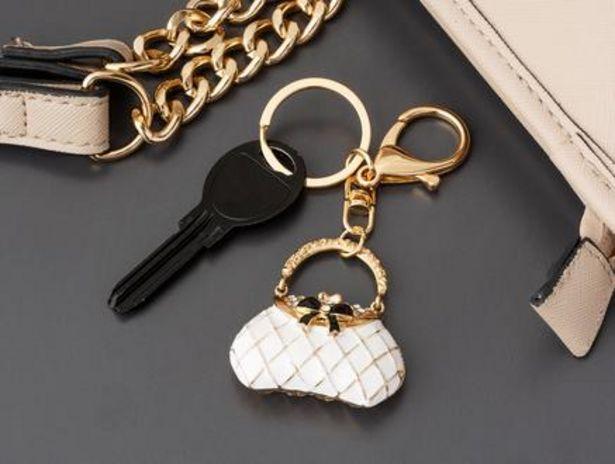 32,99 TL fiyatına Beyaz Çanta Figürlü Anahtarlık