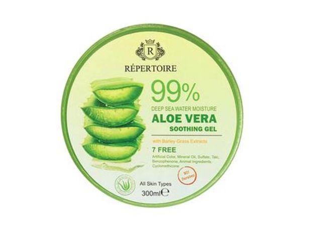 49,99 TL fiyatına RÉPERTOIRE  Aloe Vera Nemlendirici Jel - 300 ml
