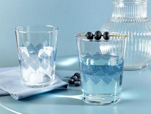 54,99 TL fiyatına Pierretta Blue Rugs 4'lü Meşrubat Bardağı Seti 510 ml
