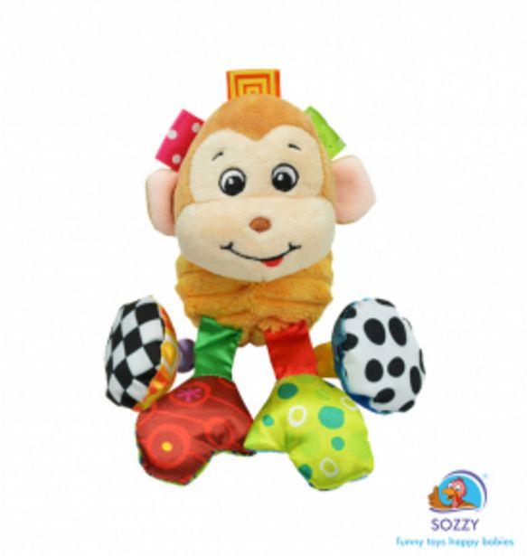 69,9 TL fiyatına Sozzytoys Titreşimli ve Çıngıraklı Hayvanlar Maymun