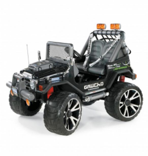 11999 TL fiyatına Peg Perego Gaucho Superpower 24V Akülü Araba