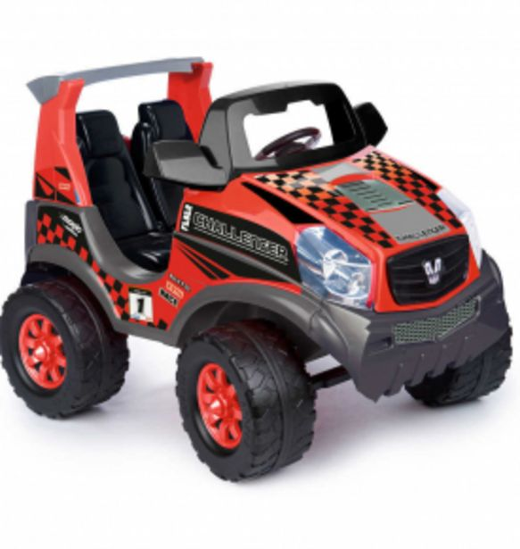 3799 TL fiyatına Feber Challenger Jeep (2 Kişilik) 12V Akülü Araba