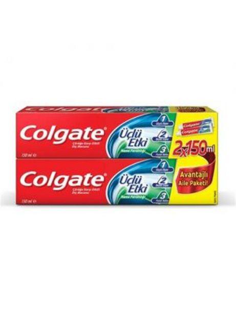 26,95 TL fiyatına Colgate Üçlü Etki Diş Macunu 150 +150 ml