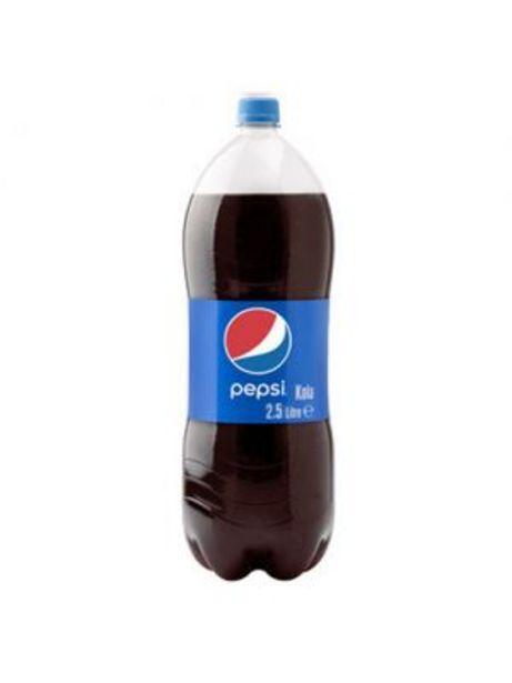 8,25 TL fiyatına Pepsi Cola 2,5 lt