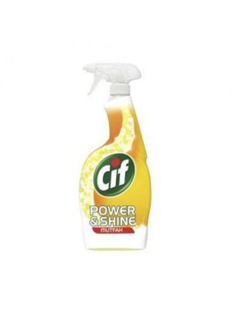 19,95 TL fiyatına Cif Sprey Power&Shine Mutfak 750 ml