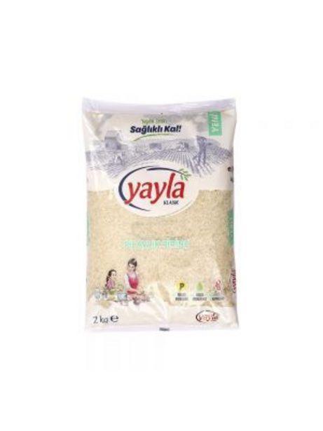 16,95 TL fiyatına Yayla Pilavlık Pirinç 2 Kg