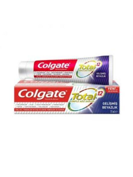 30,95 TL fiyatına Colgate Total Gelişmiş Beyazlık Diş Macunu 75 ml