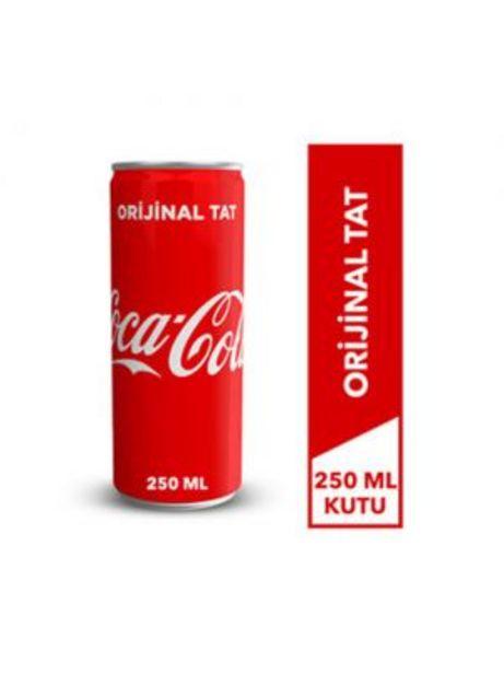 3,25 TL fiyatına Coca Cola 250 ml Kutu