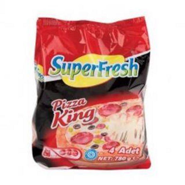 34,95 TL fiyatına Superfresh Pizza King 4 Lü 780 Gr