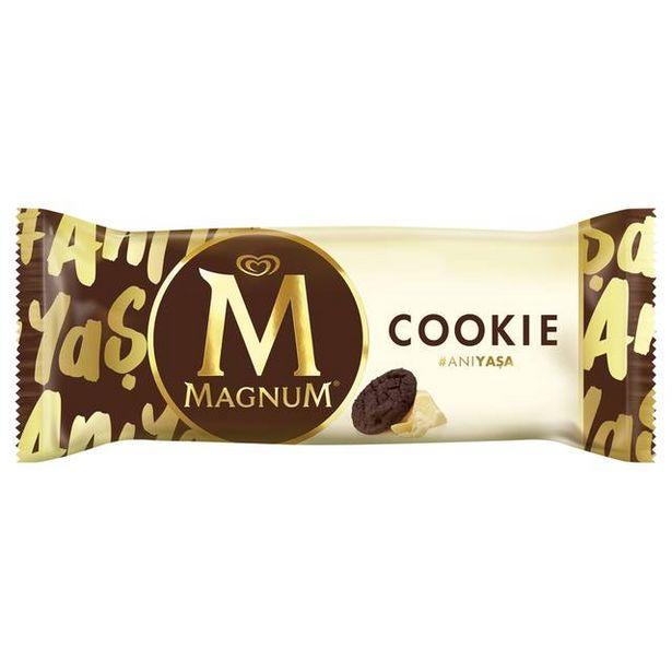 7,5 TL fiyatına Algida Magnum Cookie 95 ML