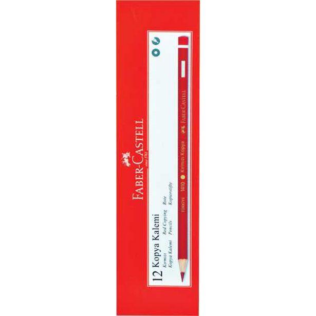24,95 TL fiyatına Faber Castell Kırmızı Kopya Kalemi