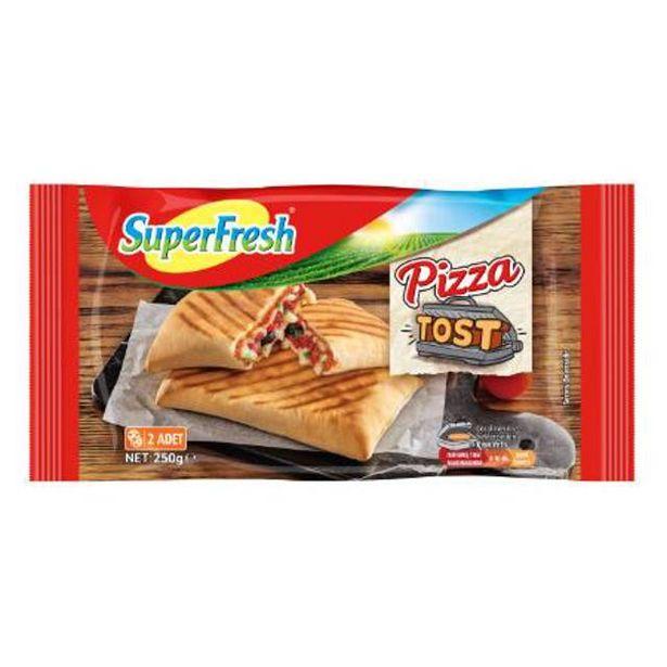 13,95 TL fiyatına Superfresh Tost Pizza 250 Gr