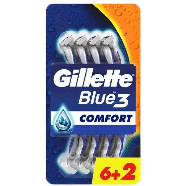 48,23 TL fiyatına Gillette Blue III Poşet Comfort 6 + 2 Adet