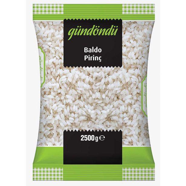29,9 TL fiyatına Gündöndü Baldo Pirinç 2,5 Kg
