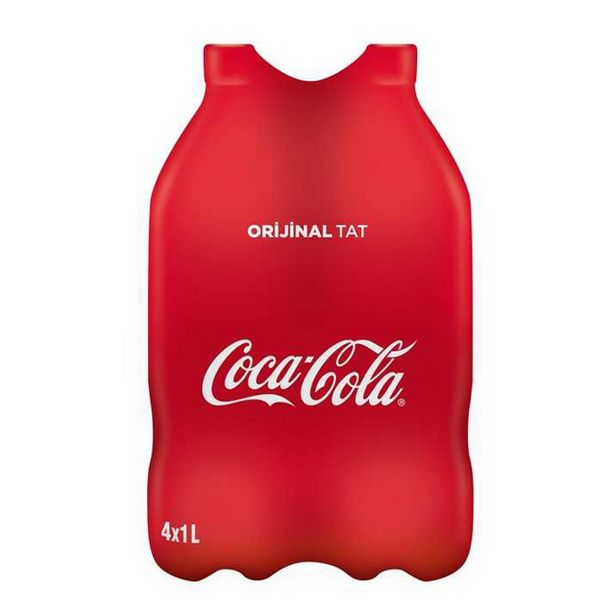 16,95 TL fiyatına Coca-Cola 4*1 Lt