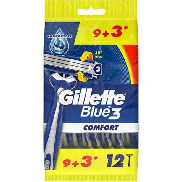 69,93 TL fiyatına Gillette Blue III Tıraş Bıçağı 9 + 3 Adet Poşet