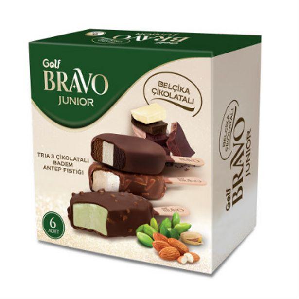 26,95 TL fiyatına Golf Bravo Antep Fıstıklı Belçika Çikolatalı Dondurma 360 ML