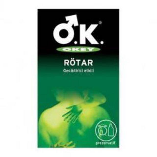 38,9 TL fiyatına Okey Rotar Prezervatif 10 Adet