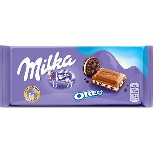 10,95 TL fiyatına Milka Tablet  Oreolu 100 Gr