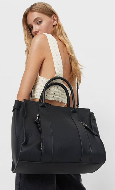 259,95 TL fiyatına Fermuarlı tote çanta