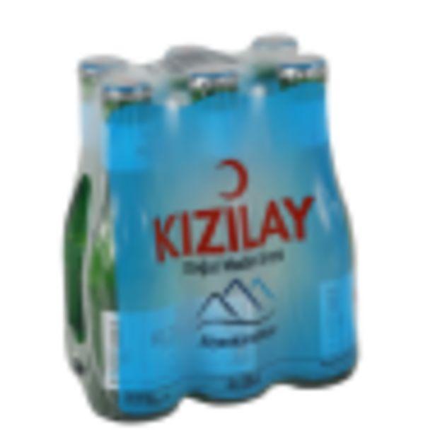 5,9 TL fiyatına Kızılay 6x200 Ml Maden Suyu