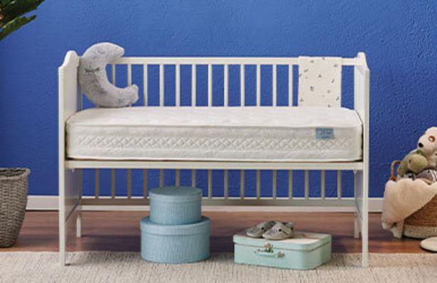 1278,9 TL fiyatına Baby Blue Star Ortopedik Bebek yatağı